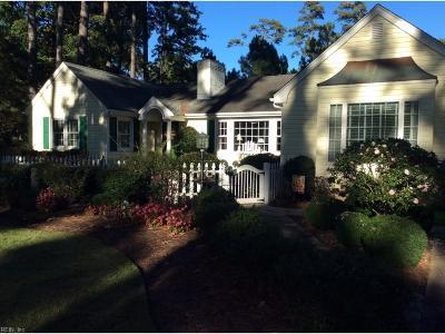 Virginia Beach Single Family Home For Sale: 828 Cardinal Rd