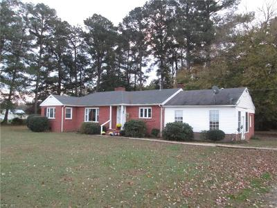 Isle of Wight County Single Family Home For Sale: 7480 Mill Swamp Rd