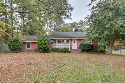 York County Single Family Home For Sale: 202 Nelson District Rd Rd