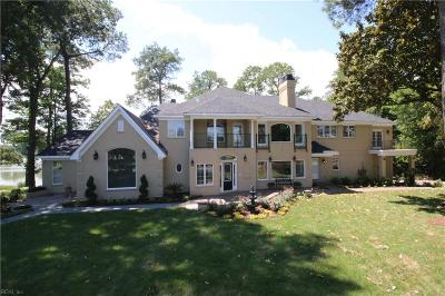 Chesapeake, Hampton, Norfolk, Portsmouth, Suffolk, Virginia Beach Single Family Home For Sale: 4137 Hermitage Pt