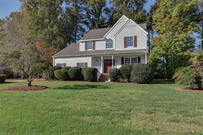 York County Single Family Home For Sale: 104 Matoaka Turn