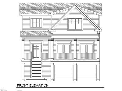 Virginia Beach Single Family Home For Sale: Lot B 700 Blk Greensboro Ave