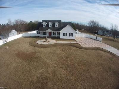 Suffolk Single Family Home For Sale: 1308 Barnes Rd