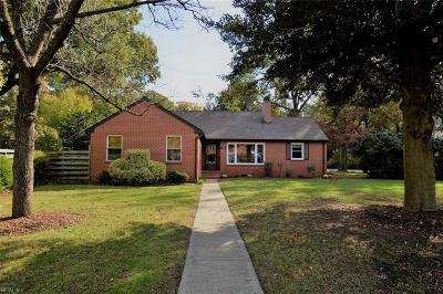 Newport News Single Family Home New Listing: 58 Elm Ave