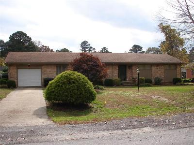 Suffolk Single Family Home Under Contract: 317 Sherwood Dr