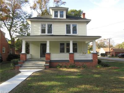 Newport News Single Family Home For Sale: 39 Woodfin Rd