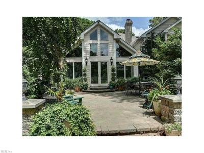 Chesapeake, Hampton, Norfolk, Portsmouth, Suffolk, Virginia Beach Single Family Home For Sale: 1741 Indian River Rd