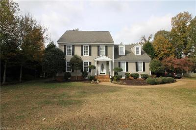 James City County Single Family Home New Listing: 105 Hearthside Ln