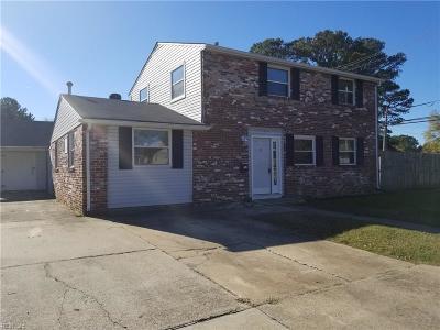 Hampton Single Family Home New Listing: 1400 Brackin Ct