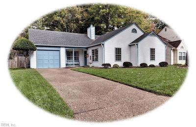Newport News Single Family Home New Listing: 241 Ashridge Ln