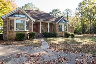 Isle of Wight County Single Family Home New Listing: 53 Faye Dr