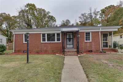 Suffolk Single Family Home Under Contract: 2225 Florida Ave