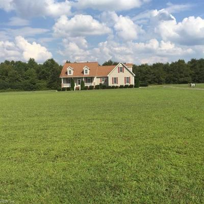 Suffolk Single Family Home New Listing: 7570 Elwood Rd