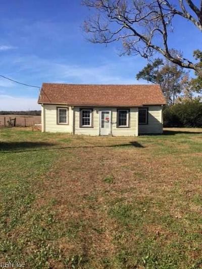 Suffolk Single Family Home New Listing: 7501 Elwood Rd