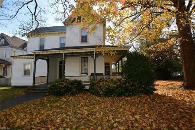 Hampton Single Family Home New Listing: 530 Settlers Landing Rd