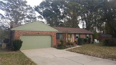 Isle of Wight County Single Family Home New Listing: 10055 Bolling Blvd