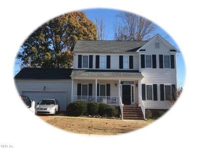 James City County Single Family Home Under Contract: 8483 Ashington Way
