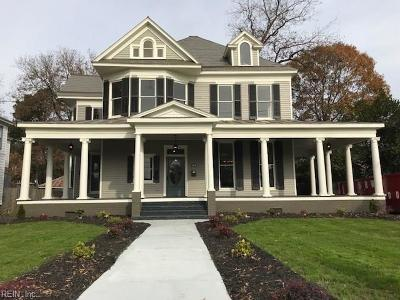 Suffolk Single Family Home New Listing: 514 W Washington St