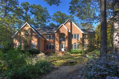 Chesapeake, Hampton, Norfolk, Portsmouth, Suffolk, Virginia Beach Single Family Home For Sale: 2800 River Rd