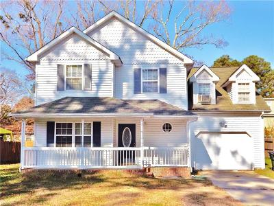 Suffolk Single Family Home New Listing: 4424 Marlin Ave