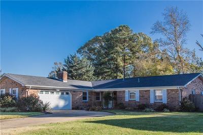 Virginia Beach VA Single Family Home New Listing: $349,777