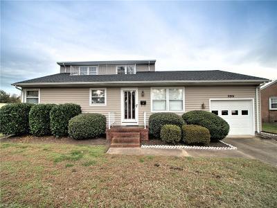 Hampton Single Family Home New Listing: 2801 Bending Oak Dr
