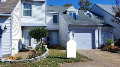 Virginia Beach VA Single Family Home New Listing: $218,000