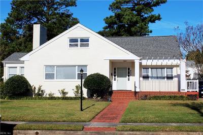 Hampton Single Family Home New Listing: 4027 Chesapeake Ave