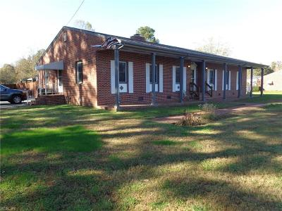 Suffolk Single Family Home New Listing: 4421 Whaleyville Blvd