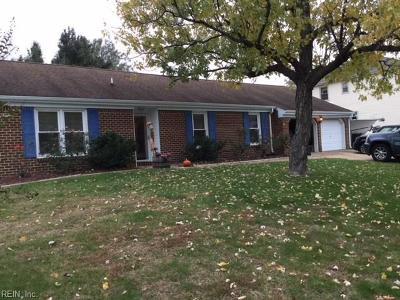 Virginia Beach VA Single Family Home New Listing: $300,000
