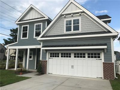 Virginia Beach Single Family Home For Sale: 1420 Oyster Shell Ln