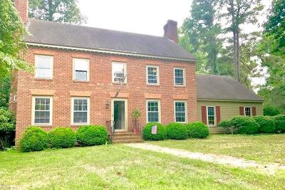 James City County Single Family Home New Listing: 9 Mile Crse