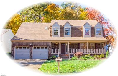 Newport News Single Family Home New Listing: 362 Lynchburg Dr