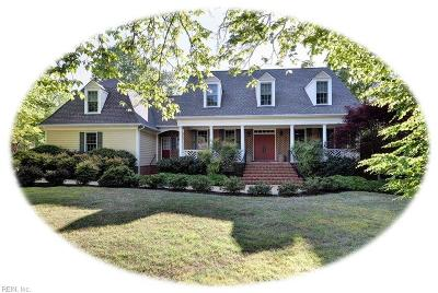 James City County Single Family Home New Listing: 100 Berrow