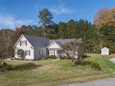 Isle of Wight County Single Family Home New Listing: 709 Tallwood Cir