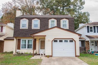 Virginia Beach VA Single Family Home New Listing: $194,900