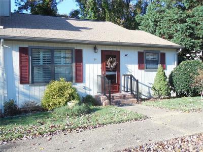 James City County Single Family Home New Listing: 16 James Sq