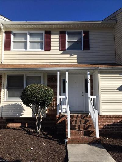 James City County Single Family Home New Listing: 31 Bromley Dr