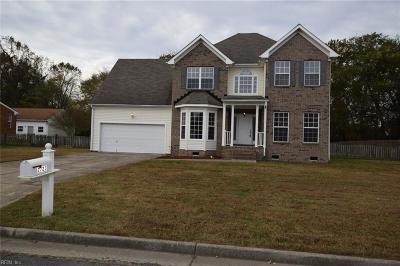 Suffolk Single Family Home New Listing: 2723 Burning Tree Ln