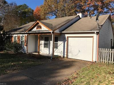 Newport News Single Family Home New Listing: 923 Jouett Dr