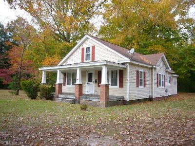 Newport News Single Family Home New Listing: 409 Deep Creek Rd