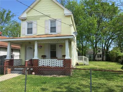 Newport News Single Family Home New Listing: 240 Buxton Ave