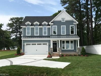 Virginia Beach Single Family Home For Sale: 2240 Bettys Way