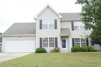 Isle of Wight County Single Family Home New Listing: 15079 Wineberry Ct