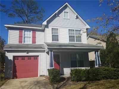 Newport News Single Family Home New Listing: 325 Town Pointe Way