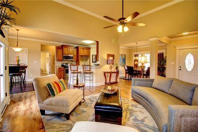 Great Bridge Single Family Home For Sale: Lot 65 Cedar Rd