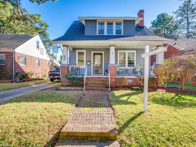 Suffolk Single Family Home New Listing: 215 Nansemond Ave