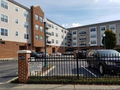 Newport News Single Family Home New Listing: 670 Town Center Dr #305