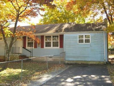 Newport News Single Family Home New Listing: 48 Bedford Rd