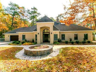 Virginia Beach Single Family Home For Sale: 3333 Whippoorwill Pt